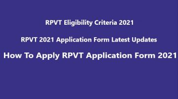 RPVT 2021 Form Date